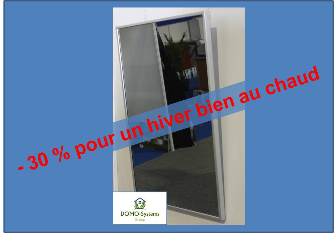 promotion miroir chauffant irl domo systems