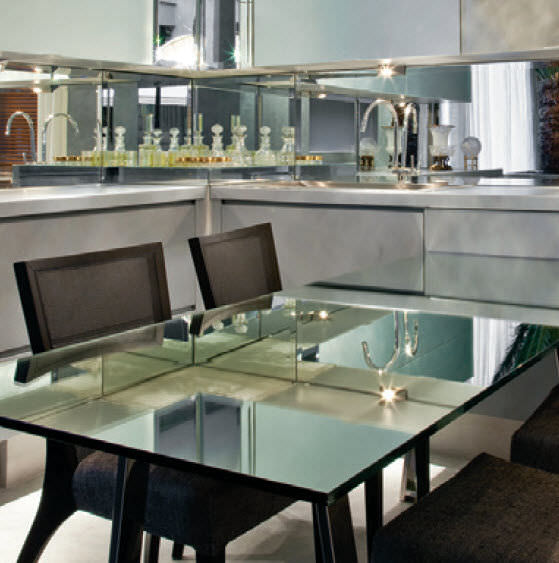 table en verre diamondguard